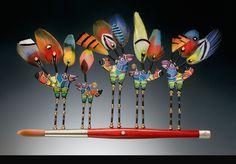 Birds On A Brush copyright 2014 Sean Brown Artist Inc.