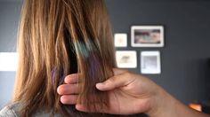 Já pensou várias vezes em pintar seu cabelo de colorido mas não teve coragem? A gente te dá uma dica de como fazer em casa.