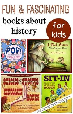 Fun books about history for kids from Valk Chuah Measured Mom History For Kids, Study History, Teaching Social Studies, Teaching History, Primary Teaching, Reading Comprehension Strategies, Mentor Texts, Kids Reading, Reading Lists