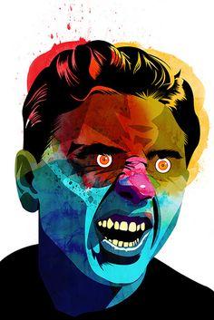 Alvaro Tapia Hidalgo, illustration and graphic design studio based in Chile Conceptual Drawing, Creative Portraits, Face Art, Graphic Design Inspiration, Cool Artwork, Illustration Art, Pop Illustrations, Sculpture Art, Pop Art