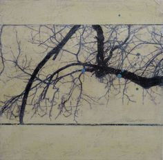 arbres series - KAREN JACOBS  contemporary and abstract paintings