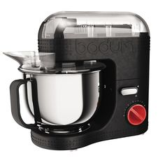 """BISTRO Electric stand mixer, 4.7 l, 160 oz Black"" I need this in my life!!! @Erica Torres @waleska williams"
