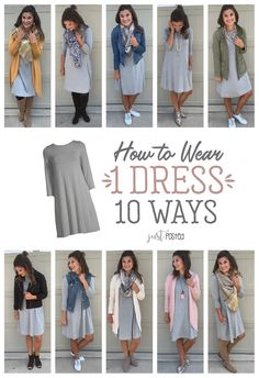 winter outfits for church Fashion Look Featuring Time and Tru Dresses and Time and Tru Dresses by justposted - ShopStyle Mode Outfits, Casual Outfits, Chambray Shirt Outfits, Church Outfit Fall, Cute Church Outfits, Teaching Outfits, Fall Teacher Outfits, Teacher Fashion, Looks Plus Size