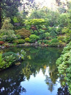 Portland Japanese Gardens, Portland, OR.