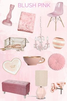 Blush Pink: for the Home by Twinspiration @tonjaamen