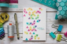 The Mini Quilter's Planner is a total game changer... toss it in your bag, list the quilting supplies or fabric you need, bring it with you to the shops.  Jot down appointments, grocery lists, things to do.  Plan quilting projects, and sketch ideas on graph paper. One little book...so many possibilities!