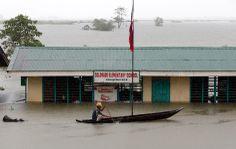Un'area colpita dalle alluvioni a Colorado, sull'isola di Mindanao, nel sud delle Filippine. (Erik De Castro, Reuters/Contrasto)