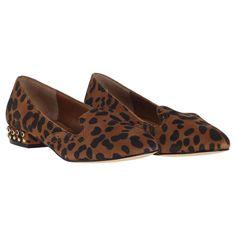 Fiera Smoking Loafer Leopard