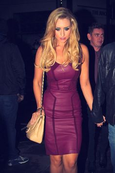 Catherine Tyldesley at Groucho Club in London