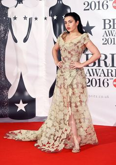 """eclecticsnaps: """"Charli XCX at the 2016 Brit Awards """""""