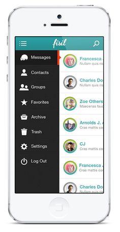 live messages app. interesting selector