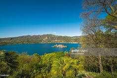 Lake Orta from Sacro Monte Orta, Italy | Lake Orta, Italy | #stockphotos #gettyimages #print #travel |