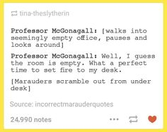 McGonagall is the best and i love her