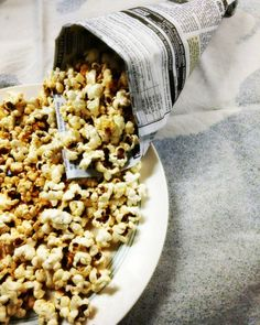 A Trip Down Memory Lane with Masala Popcorn. Indian Dinner Menu, Snack Recipes, Snacks, Popcorn, Easy Meals, Joy, Simple, Snack Mix Recipes, Appetizer Recipes