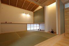 写真11|T様邸(H28.4.18更新) Japanese Interior, Japanese Design, Modern Interior, Home Interior Design, Japanese Architecture, Interior Architecture, Washitsu, Tatami Room, Studio Living