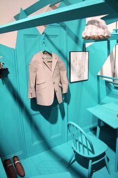 Paper jacket by Matthew Nicholson: Lamp shade by Jy Yeon Suh
