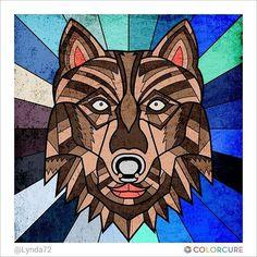 #coloringbook #coloringappforadults #colorcure #adultcoloringbooks #비밀의정원컬러링북 #색칠공부 #healing #therapy #힐링 #치유 #색칠스타그램 #animal #predator #wolf #painting #sketch #art