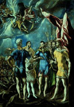 HISTORIA DEL ARTE: LA PINTURA ESPAÑOLA DEL RENACIMIENTO: EL GRECO.