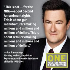 Even the GOP is starting to realize that the NRA stands for profits, not the Second Amendment.
