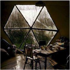 Cool geometric window!