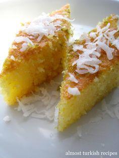 Almost Turkish Recipes: Semolina Sponge Cake (Revani)