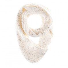 Calvin Klein Womens Sequin Infinity Scarf