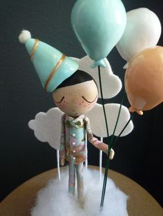 This listing is for one Custom Birthday Cake Topper for a boy or girl. Please allow approximately 4 weeks for completion of your cake topper