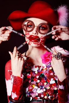 Jamie Nelson Vogue Ukraine Love Valentine Beauty Editorial with model Paulina Klimek Foto Fashion, Fashion Art, Fashion Beauty, Lazy Fashion, Beauty Editorial, Editorial Fashion, Editorial Hair, Creative Photography, Fashion Photography
