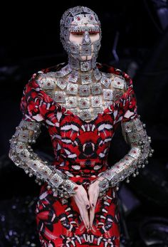 """The Snake Dress"" by Alexander McQueen"