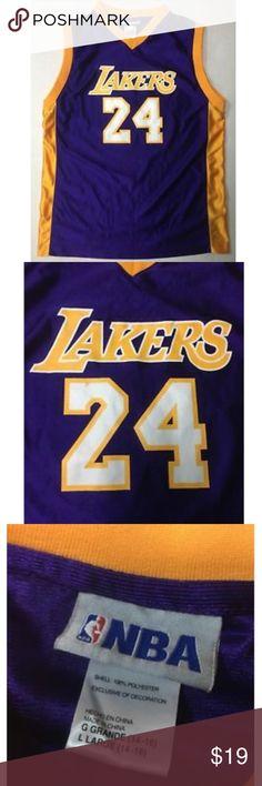 NBA Los Angeles Lakers Kobe Bryant  24 Jersey L NBA Los Angeles Lakers Kobe  Bryant 86984df8c