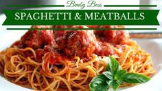 Bimby | Thermomix - Spaghetti and Meatballs / Spaghetti con polpettine a...