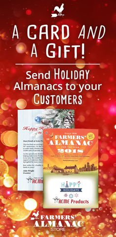 963888d4 Promote Your Business with the Farmers' Almanac Promotional Edition -  Customize it for the holidays