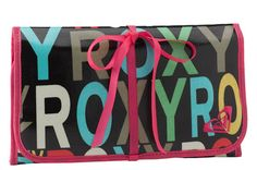 Roxy Take Me Too Trifold Cosmetic Bag