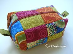 Pezzedimondo: Tutorial Trousse Quadrotto