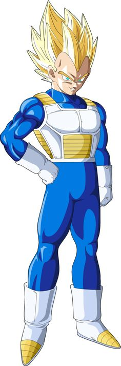vegeta ssj by naironkr.deviantart.com on @DeviantArt