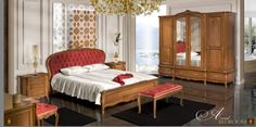 ARCAD bedroom by Simex. Classic Furniture www. Dream Furniture, Classic Furniture, Furniture Making, Solid Wood, Bedroom Decor, Home Decor, Decoration Home, Room Decor, Decorating Bedrooms