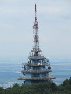 Nitra , Zobor Spaceships, Burj Khalifa, Europe, History, City, Building, Places, Travel, Voyage