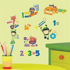 Team Umizoomi Wall Decals RMK1916SCS