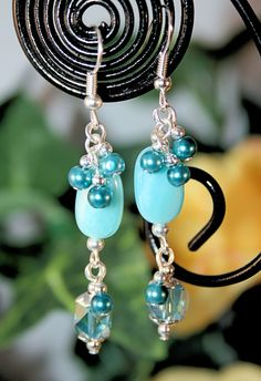 A pair of my handmade earrings being auctioned on Tophatter.  I list items daily in the Community Auctions.  Huge variety to pick from.  Come join us for the fun!