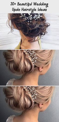 Amazing 30+ Beautiful Wedding Updo Hairstyle Ideas #messyweddinghairstylesSide #messyweddinghairstylesBoho #messyweddinghairstylesMediumLengthHairs #messyweddinghairstylesLong #messyweddinghairstylesWaves Messy Wedding Hair, Wedding Updo, Wedding Hairstyles, Updo Hairstyle, Hairstyle Ideas, Elegant Bun, Backless Gown, Shoulder Length Hair, Loose Curls