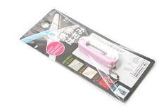 Stad Mini Scissors Keychain - Pink - STAD SS103PK Jet Pens, Mini, Crochet Patterns, Crochet Pattern, Crochet Tutorials, Crocheting Patterns, Crochet Stitches Patterns