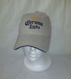 Corona Light Khaki Adjustable Baseball Hat Cap  #CoronaLight #BaseballCap