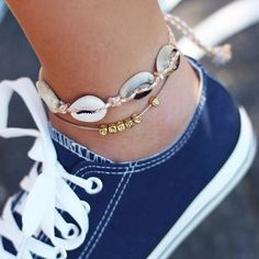 Fashion Anklets Bracelets - Add flare to your style, express your creativity I Love Jewelry, Body Jewelry, Fine Jewelry, Jewlery, Silver Jewelry, Jewelry Chest, Ocean Jewelry, Jewelry Model, Wooden Jewelry