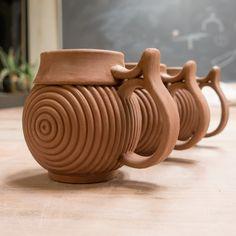 My personal ceramics portfolio and pottery that inspires Slab Pottery, Pottery Mugs, Ceramic Pottery, Pottery Art, Ceramic Techniques, Pottery Techniques, Clay Mugs, Ceramic Clay, Coil Pots