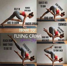 How to: flying crow #YoYoYoga-PosesandRoutines