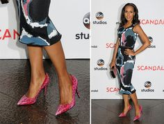 12 Pics to Prove Kerry Washington is the Undisputed Queen of the Statement Shoe