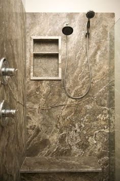 ForzaStone - Home Remodeling Ideas Finally, the exact product I want for my shower stall - real stone and NO GROUT! Miracles do exist.