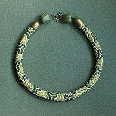 crazywool: sznur koralikowo-szydełkowy (вязаный бисерный жгут)