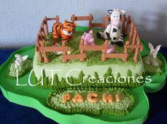 Torta Decorada Infantil La Granjita http://www.lutcreaciones.com.ar/tortas-infantiles/torta-decorada-la-granjita/?preview=true&preview_id=863&preview_nonce=7e950cfc60