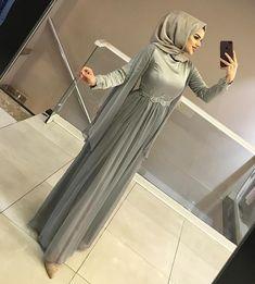 Hijab Gown, Kebaya Hijab, Hijab Evening Dress, Hijab Dress Party, Kebaya Dress, Kebaya Muslim, Evening Dresses, Abaya Style, Hijab Style Dress